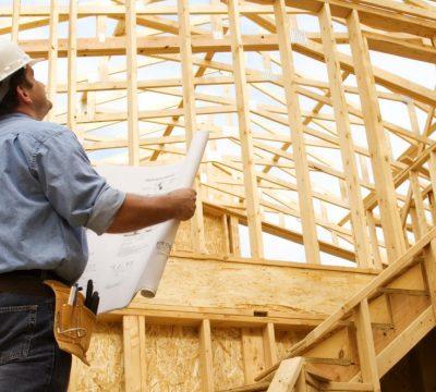 Builder in framed house (1)