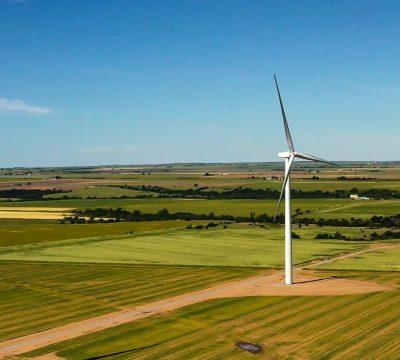 Texas Wind Turbine (21x9)