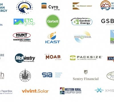 business logos to support clean energy economy